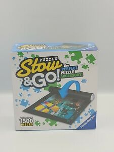 Puzzle Stow and Go Storage System Roll Up Matt Up To 1500 Pieces Hasbro New