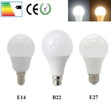 E27 B22 E14 LED Bulb 3W 5W 7W 9W 12W 15W 18W 20W Cool White Warm White 220-240V