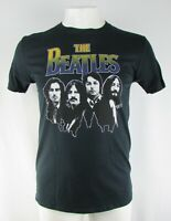 The Beatles Men's Black Graphic T-Shirt