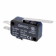 Micro Interruttore Switch Serie CMV Plastica 1NO+NC 10A 250V| 3X CNTD-CMV-101-D