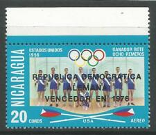 stamps-nicaragua. 1976. OLYMPIQUE AVIRON VICTOIRE commémorative Sg:2084. MNH
