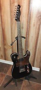 Squier John 5 Telecaster Black Chrome 6 String Electric Guitar w/Fender Gigbag
