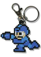**Legit** Megaman 10 Anime Authentic PVC Keychain 8 Bit Megaman #5055