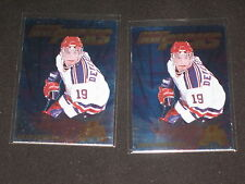 LOT (2) BOYD DEVEREAUX HOT PICK 1996 EDGE ICE CERTIFIED SIGNED AUTOGRAPHED CARD