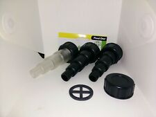 Pond One ClariTec 3000-15000 Inlet/outlet Hose Adaptor Set - 11680