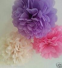 wedding party birthday decorations tissue paper pompoms pom poms mixed sizes