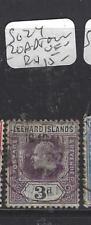 LEEWARD ISLANDS (P1610B) KE  3D  SG 24  ROADTOWN   VFU