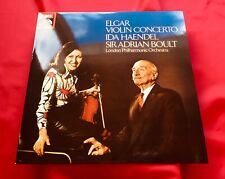 ASD 3598 IDA HAENDEL / BOULT Elgar Violin concerto TESTAMENT ALL ANALOGUE MINT!!
