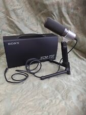 Sony ECM-737 Stereo Condenser Microphone - Great For Videography