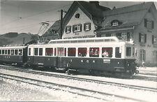 2 x Foto Ak, Appenzeller Bahn, St. Gallen Gais, 1962, (W)1578