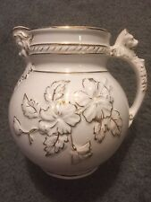Antique Vintage Haynes Ware Baltimore Pottery Pitcher! Marked & Numbere