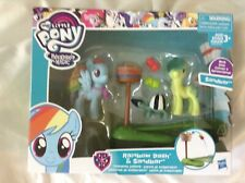 MY LITTLE PONY FIM RAINBOW DASH AND SANDBAR TEAMWORK LESSIONS