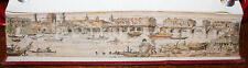 1863 Fore-Edge Painting Old London Bridge after Canaletto Histoire Vierge Marie