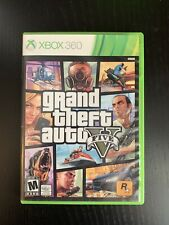 Grand Theft Auto V 5 (Microsoft Xbox 360, 2013)
