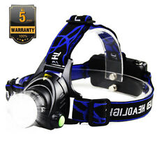 Waterproof 90000LM XM-L T6 LED Headlamp Headlight Flashlight Head Torch AAA Camp