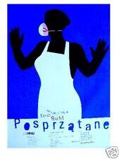 Polish poster by Miroslaw Adamczyk