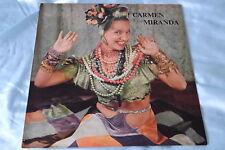 """Rare Compilation LP: Carmen Miranda  ~ """"Cuanto La Gusta"""" ~ Cae Cae  on Rio 1900"""