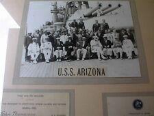*☆* USS ARIZONA BB-39 NAVY PRESIDENTIAL TRIP HERBERT HOOVER PHOTO 1931 *☆*