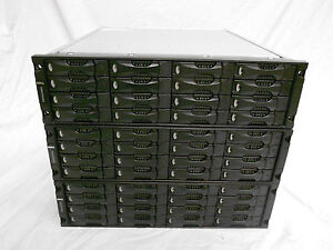 LOT OF 3! Dell Equallogic PS5000e 48TB Cluster iSCSI Storage Systems SAN 48x 1TB