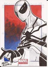 Spider-Man Future Foundation costume Mauro Fodra Marvel Universe sketch card