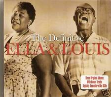 Ella Fitzgerald & Louis Armstrong - The Definitive - Best Of / Greatest Hits 3CD