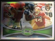 Marshawn Lynch 2012 Topps Chrome Refractor Seattle Seahawks