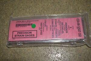 ^^MICRO-MEASUREMENTS Précision Souche Gage- CEA-06-125UT-350 (MM #58)