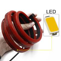 Red LED Rear 3rd Brake Strip Driving Warning Turn Signal Light Flexible New
