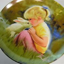 Tender Moment Pemberton & Oakes 1984 Collector Plates