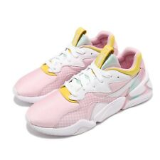 Puma Nova X Barbie Wns White Orchid Pink Yellow Women Running Shoes 370721-01