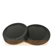 DSLRKIT Rear Lens+Camera body Cover cap for Fujifilm GFX 50S 50R G Mount Camera