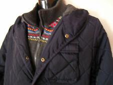 PEPE JEANS giubbotto giacca trapuntata, colletto e risvolto in maglia mis. M