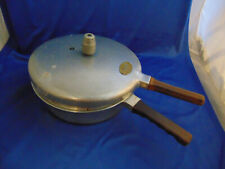 Vintage Presto Model 400 Fry Master Cooker aluminum made USA heavy duty kitchen
