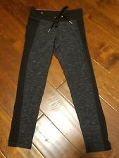 New CALVIN KLEIN Women Size XS XSmall Athletic Running Workout Black Yoga Pants