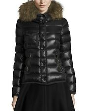 New Authentic 2017 Moncler Armoise Fox Fur Hooded Down Jacket NWT Black