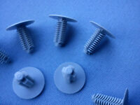 20x Verkleidung Clips Befestigung Klips Halter Universal 9mm grau 78B