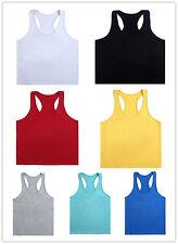 C Y-Back Gym Tank Top Sport Fitness Workout Training Stringer Vest Bodybuilding