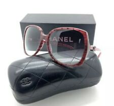 Chanel 5216 1306 /3P Red Burgundy Sonnenbrille Gradient Women Sunglass Authentic