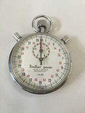 Hanhart Lever 7 Jewel Shockproof Stopwatch. 1/10 Sec. Made In Germany