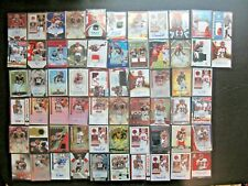 (62) CINCINNATI BENGALS AUTO JERSEY PATCH RC LOT