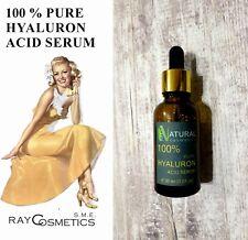 EU Grade Pure Hyaluron Acid 100% face & neckline serum anti-wrinkle treatment