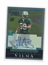 2004 Bowman Chrome Jonathan Vilma Autograph Rookie Card - New York Jets