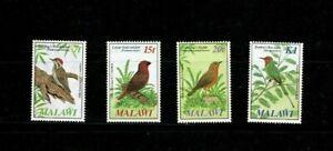 U0502 MALAWI 1985 Birds   MH