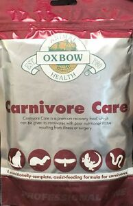 Oxbow Animal Health Carnivore Care Pet Recovery Assist-Fedding Formula Food 340g