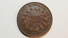 Monnaies, Louis Philippe I, Essai de 1 Décime 1840, Refonte des monnaies SUP