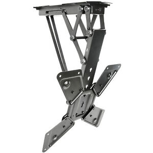 """USED Electric Motorized Flip Down Pitched Roof Ceiling TV Mount for 23"""" to 55"""""""