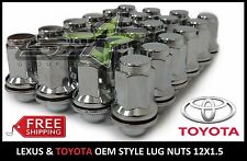 24 PC OEM TOYOTA FACTORY MAG LUG NUTS | 12X1.5 | FITS TOYOTA AND LEXUS MAG WHEEL