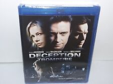 Deception (Blu-ray, Canadian, Region A, Hugh Jackman) NEW - Extras - No Tax