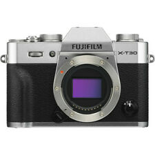 FUJIFILM X-T30 Mirrorless Digital Camera (Body Only, Silver) - 16618380