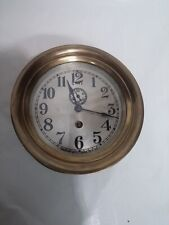 "Small 5.5"" Jeweled Early Seth Thomas Marine Pilot Clock"